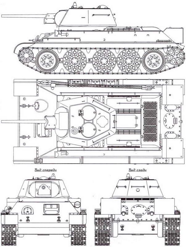 Т-34 выпуска 1942 года, завод №183