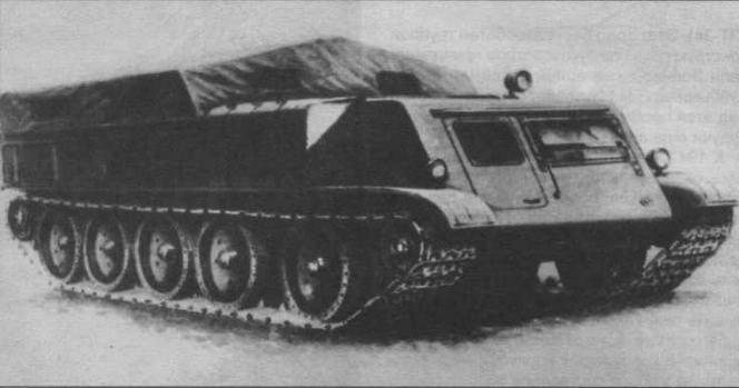 Артиллерийский тягач АТ-42