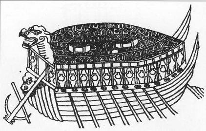 Модификация корабля-черепахи, предпринятая адмиралом Ли Суп-сипом. Новый корабль имел шесть пар веслел вместо прежних восьми. Драконья голова стала заметно крупнее, ниже появилась еще одна носовая фигура. Высокие борта с орудийными портами, крыша крыта шестиугольными пластинами. В целом корабль очень похож па морскую черепаху'.