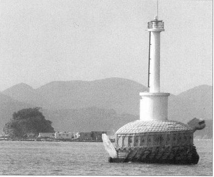 Место боя при Хансандо обозначено современным маяком, цоколь которого стилизован под корабль-черепаху.
