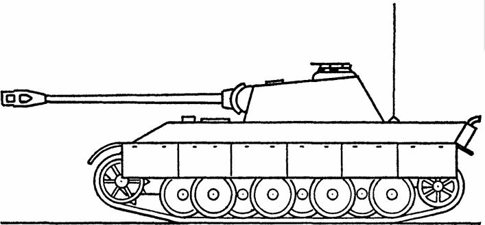 Танк «Пантера» (Sd.Kfz.171).