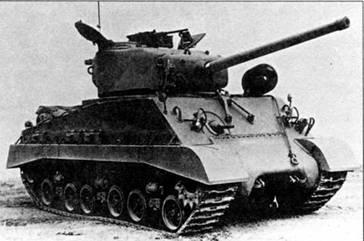 4542 танка М4А3 было выпущено с марта 1944 по апрель 1945 г. Они имели башню «Тип 2» и 76-мм пушку.