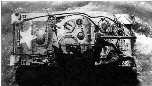 Танк М4А6 получил корпус от М4А4. Главным различием между этими машинами было наличие выпуклости на задней крышке. Производство М4А6 было прекращено из-за проблем стандартизации. Танки не принимали участия в боевых действиях.