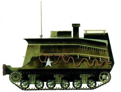 Десантная бронированная ремонтноэвакуационная машина выпускалась в Великобритании перед высадкой в Нормандии. Ее башня позволяла действовать на глубине до трех метров.
