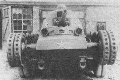 Танк Гроте (ТГ) сбоку, 1936 г.