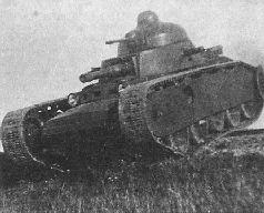 Танк Гроте (ТГ) на испытаниях, 1931 г.