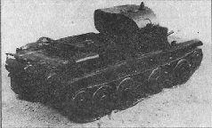 Модель танка БТ-7, 1934 г.