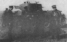 Испытания танка БТ-7А, 1935 г.