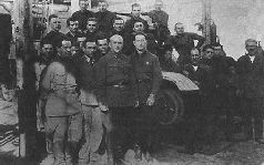 Танк БТ-ИС на колесах, 1935 г.