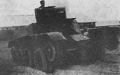 Проект танка Н. Цыганова («второе изобретение»), 1935 г.