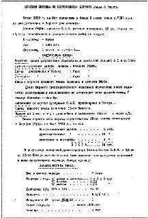 Схема внутреннего устройства танка «Русский «Рено», приложенная к справке.
