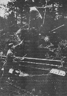 Чертеж танка «Виккерс 6-тонный», 1929 г.