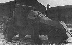 Бронирование автомобилей по проекту Мгеброва на Ижорском заводе, 1916 г.