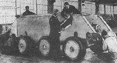 Танки Дж. У. Кристи «Торнадо» и «Харрикейн» в армии САСШ, 1930 г.