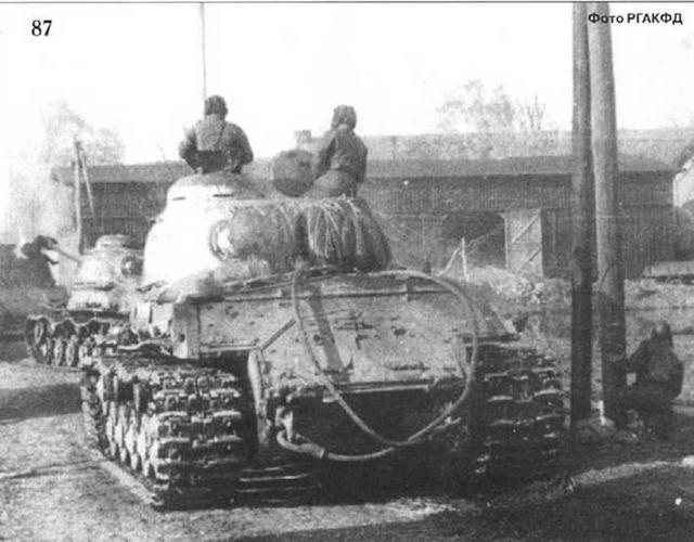 Еще один польский город освобожден. Осень 1944 г.
