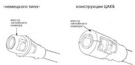 Варианты дульного тормоза танка ИС-122