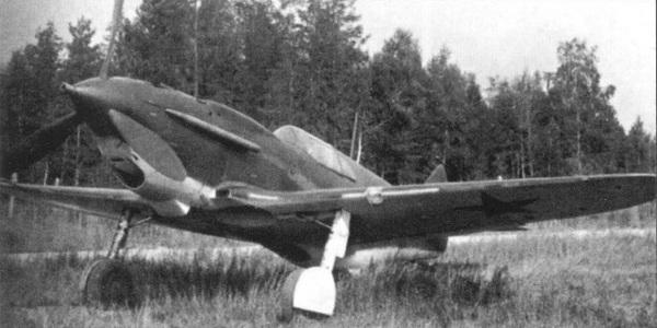 Вариант ЛаГГ-3 с пушечным вооружением.