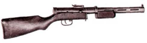 Пистолет-пулемет ППД-40 конструкции В. А. Дегтярева