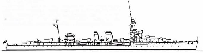 Польский крейсер Dragon