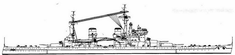 """Кинг Джордж V"" в мае 1943 года"