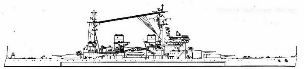 """""""Дьюк оф Йорк"""" в марте 1945 года"""