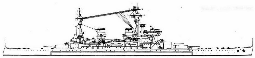 """Энсон"" в марте 1946 года"