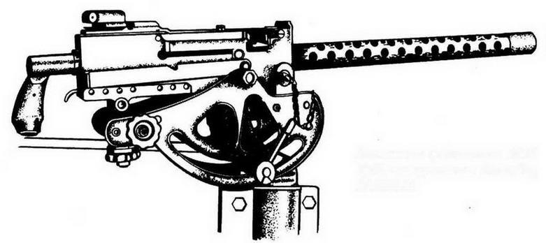 Зенитная установка М22 7,62-мм пулемета Browning М1919А4