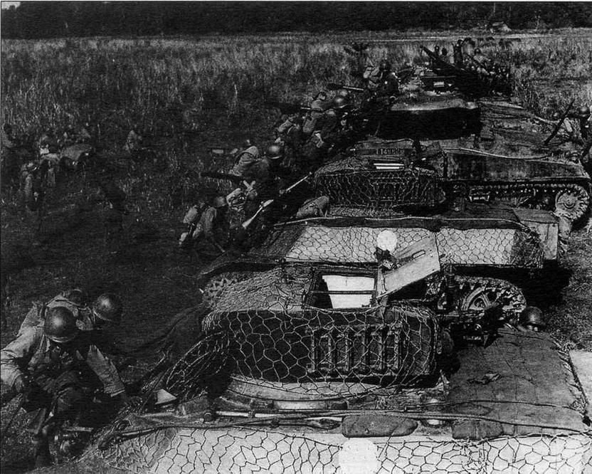 """""""Стюарты"""" М3 АЗ 1-й китайской сводной танковой группы. Бирма, январь 1945 года"""