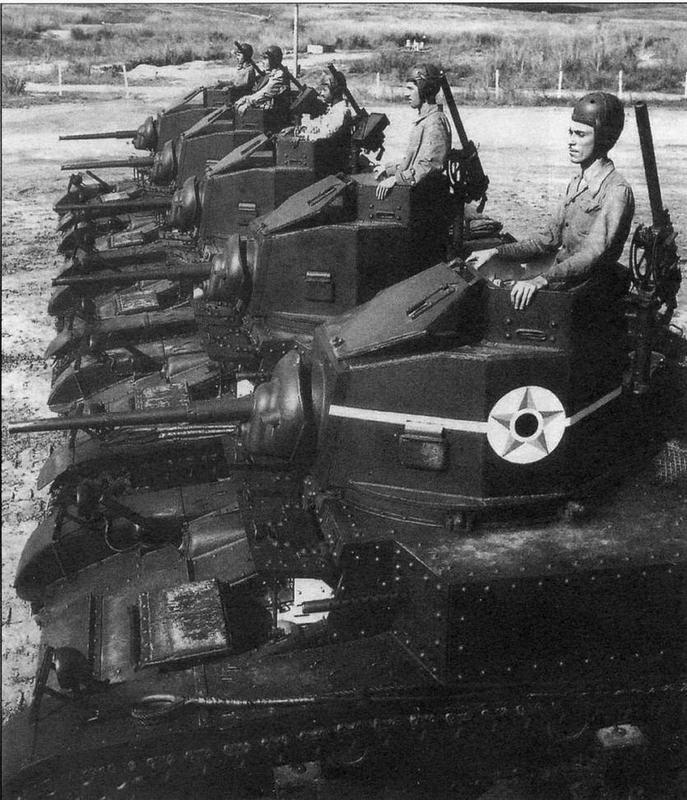 Подразделения танков М3 бразильской армии во время тактических занятий. 1943 год