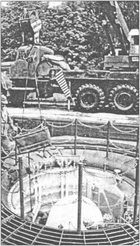 МБР УР-100 в ШПУ.