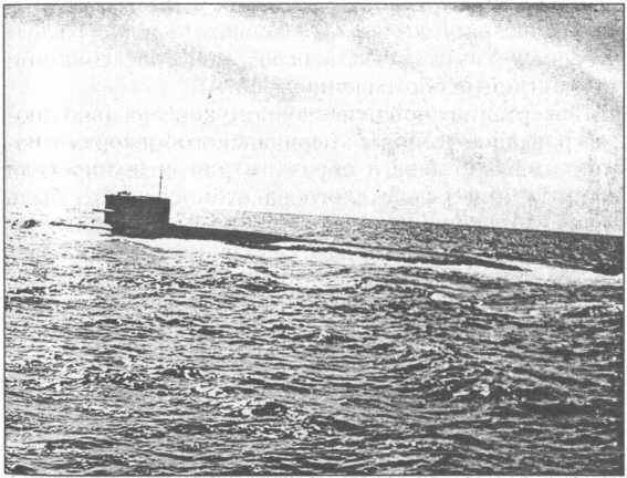 Ракетный подводный крейсер стратегического назначения проекта 667 Р-2.