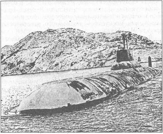 Атомный ракетоносец «Тайфун».