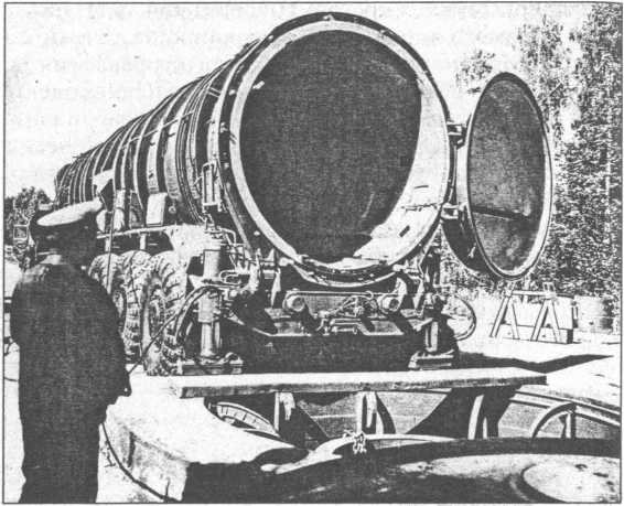 Подготовка к запуску ракеты PC-12.