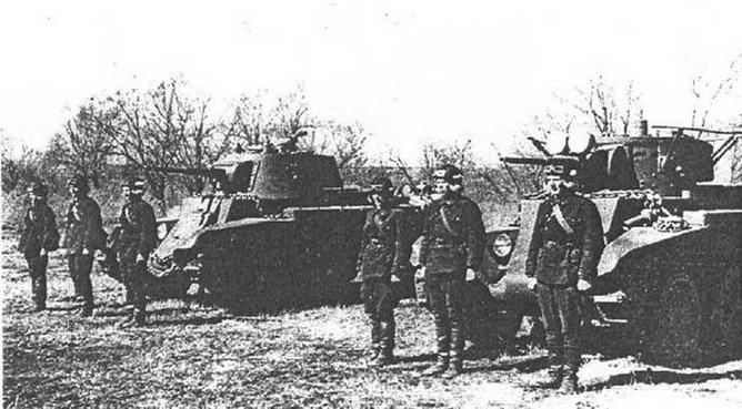 Экипажи шести братьев Игнатьевых. Особая Краснознаменная Дальневосточная армия, 1940 год.