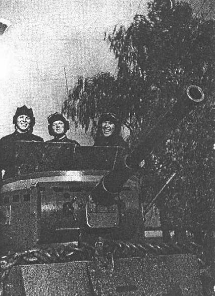 На маневрах Белорусского военного округа. 1936 год.