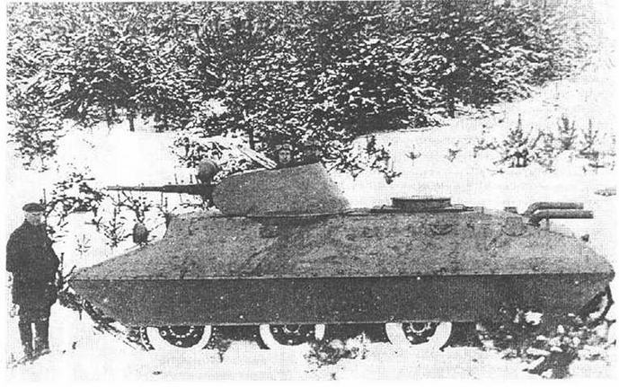 Танк БТ-СВ-2 на испытаниях.