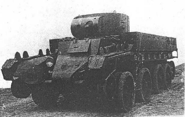 Опытный танк ХБТ-7.