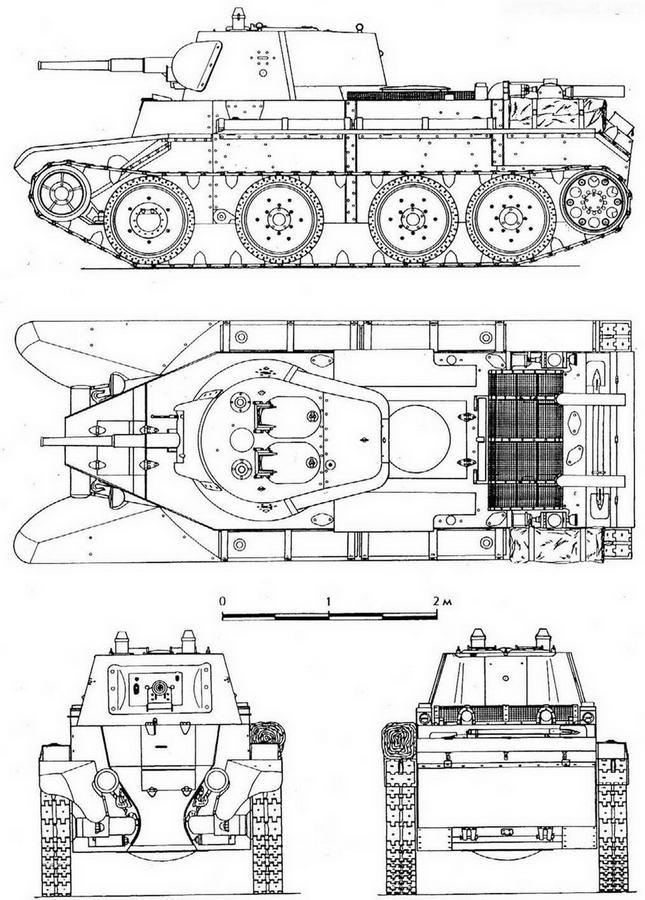 БТ-7 образца 1937 года.