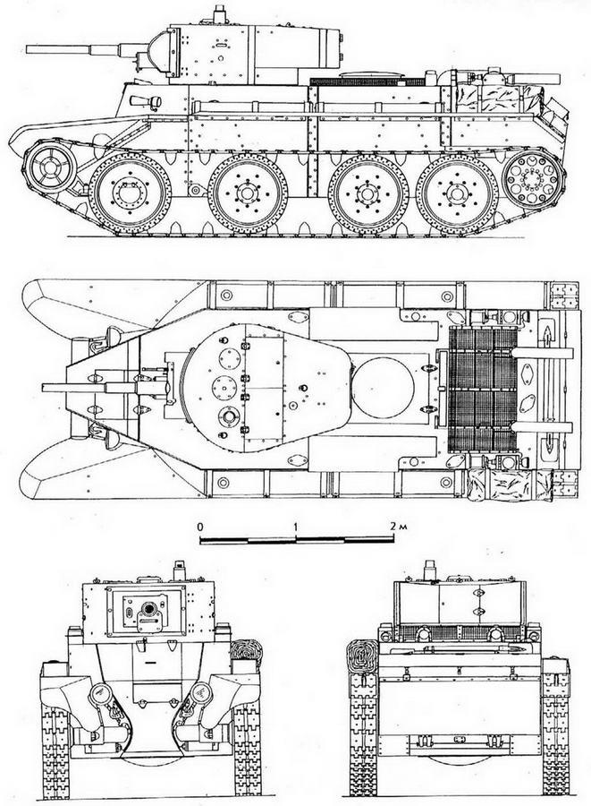БТ-7 образца 1935 года.