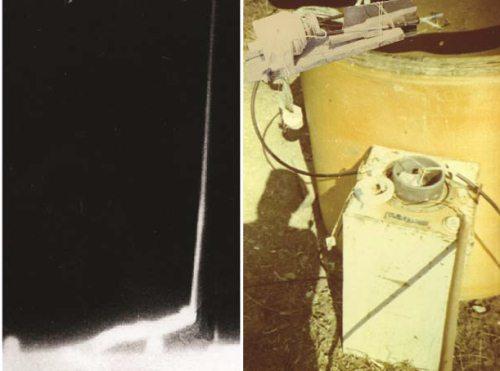 5.10 Опыты со сверхпроводниками. Взрывы выбивают стекла и магнитное поле из железных пластин