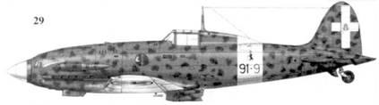 29. С. 202 серии III сототененте Ленардо Фиррулли, 91-я эскадрилья 10 Gruppo 4 Stormo, Фука, октябрь 1942г.