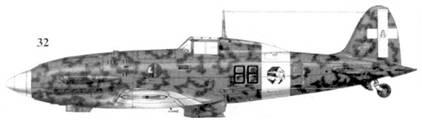 32. С.202 серии IX ММ9398 марисчиалло Джин-Лино Басчирото, 88-я эскадрилья 6 Gruppo I Stormo, Пателлерия, декабрь 1942г.