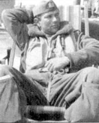 После заключения перемирия Горрини сражался в ANR, в составе 2-й эскадрильи I Gruppo Caccia он сбил еще четыре самолета союзников. Фотография сделна в Камборджино весной 1944г.