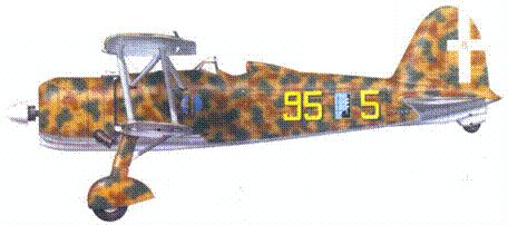 CR.42 маресциалло Феличе Лонги, лето 1940г.