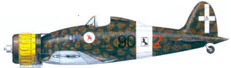 С.200 тененте Франко Луччиии, август 1941г.