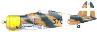 G.50 bis серженте мажжоре Альдо Буволи, 9 июля 1941г.