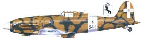 С.202 капитано Франко Луччини, сентябрь 1942г.