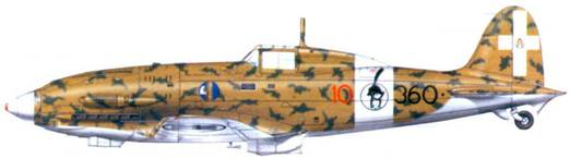 С.202 капитано Карло Миани, август 1942г.