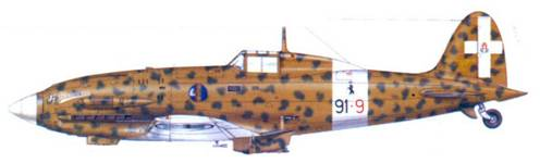 С.202 соттененте Ленардо Фиррулли, октябрь 1942г.