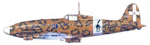 C.205V «Veltro», Канотерра, 22 июля 1943г.